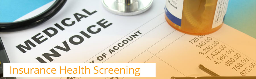 Insurance Health Screening services